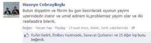Husen Cebrayiloglu_Ilk reportaj