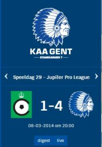 KAA Gent Tablo_2